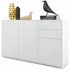 vladon sideboard chest of drawers skadu carcass in black