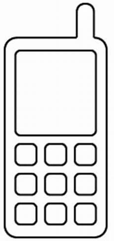 Malvorlagen Kostenlos Ausdrucken Handy Kleurplaat Mobiele Telefoon Ausmalbilder Malvorlagen