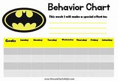 Behavior Clip Chart Template Behavior Chart Template Peerpex