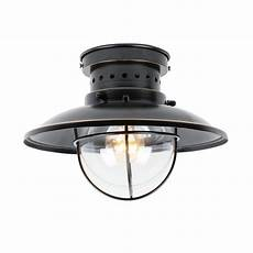 Flush Mount Can Light Y Decor Small 1 Light Imperial Black Outdoor Ceiling Light