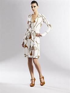 gucci jersey wrap dress in white lyst