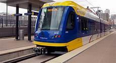Light Rail Line Minneapolis U S Department Of Transportation Celebrates Opening Of