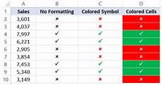 Tick Sheet Excel How To Insert A Check Mark Tick Symbol In Excel Quick
