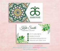 Arbonne Business Cards Arbonne Business Cards Business Cards Arbonne By