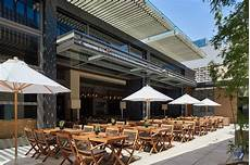 alfresco dining on the open air terraces restaurants at