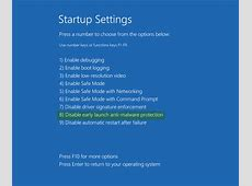 Disable Automatic Restart on System Failure in Windows 10