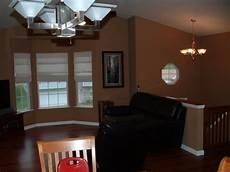 color choice for my living room with dark brown hardwood