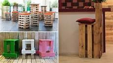 sgabello fai da te sgabelli economici e moderni con bancali in legno