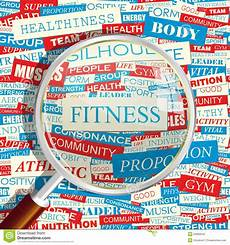 Words Related To Fitness Fitness Stock Vector Illustration Of Energy Body Media