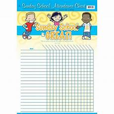 Sunday School Attendance Sheets Sunday School Is Great Attendance Chart 22 Quot X 17 Quot Www