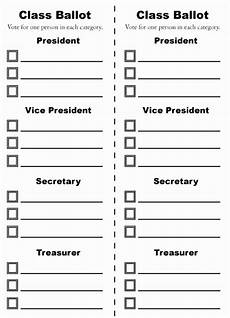 Voting Ballot Template For Word Voting Template Word Wordtemplates