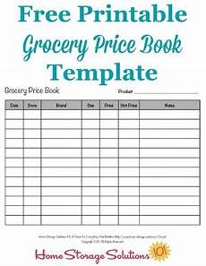 Grocery List Prices Calculator Grocery Price Book Use It To Compare Grocery Prices In