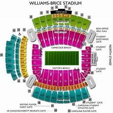 South Carolina Gamecock Football Stadium Seating Chart 8 Photos Williams Brice Stadium Seating Chart Row Numbers