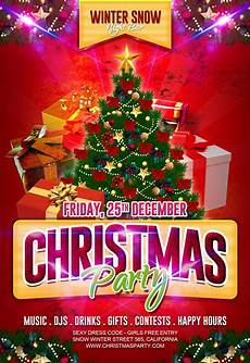 Free Christmas Flyer Psd 15 Best Christmas Party Flyer Free Psd Design Slots