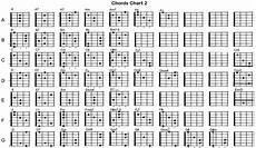 Guitar Bar Chords Chart Free Guitar Cjords Charts Printable Activity Shelter