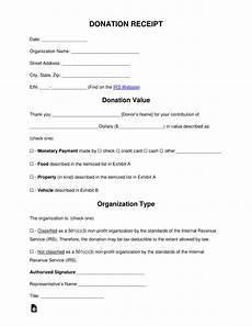 charitable donation receipt template word free donation receipt templates sles pdf word