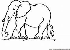 malvorlagen elefant gratis