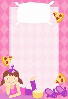 Girl Sleepover Invitations 50 Beautiful Slumber Party Invitations Kittybabylove Com