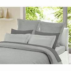 Light Grey Textured Duvet Cover Dormisette Light Grey Chambray 100 Brushed Cotton Duvet