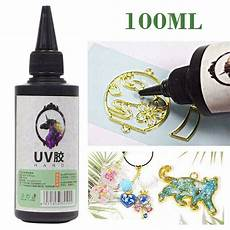 Can You Cure Epoxy Resin With Uv Light 100ml Clear Ultraviolet Curing Epoxy Resin Uv Glue Resin