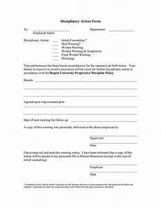 Work Write Up Forms 46 Effective Employee Write Up Forms Disciplinary