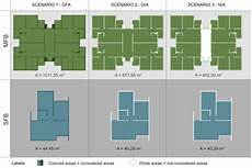 floor plans of both types of social housing and considered