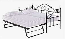 lpd florence 3ft single black metal day bed frame by lpd
