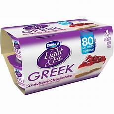 Dannon Light And Fit Strawberry Cheesecake Yogurt Nutrition Light Amp Fit By Dannon Greek Nonfat Yogurt Strawberry
