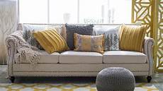 ideas for spicing up a neutral sofa hayneedle