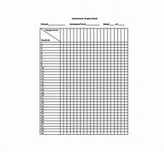 Grade Sheet Pdf Grade Sheet Template 24 Free Word Excel Pdf Documents
