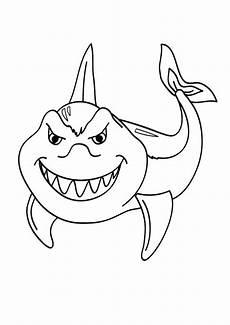 ausmalbilder haifisch 04 ausmalbilder tiere