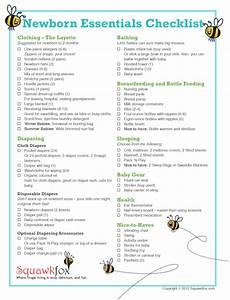 Baby Stuff Checklist Newborn Essentials Checklist Save Money With Just The