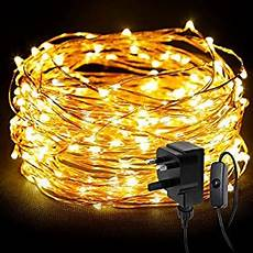 Outdoor Battery Fairy Lights Amazon Battery Operated Waterproof Fairy Lights With 10m 100 Warm
