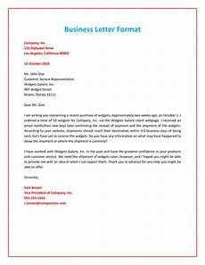 Basic Business Letters 35 Formal Business Letter Format Templates Amp Examples