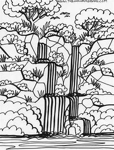 jungle coloring pages to and print for free