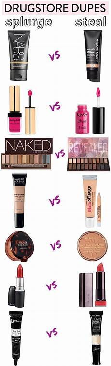 doubles 50 fabulous drugstore dupes for high end