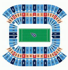 Titans Interactive Seating Chart Tennessee Titans Tickets Packages Amp 141 Nissan Stadium