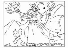 Malvorlagen Kinder Zauberer Wizard Coloring Pages To And Print For Free