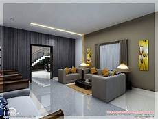 interior home decorating ideas living room awesome 3d interior renderings kerala home design and