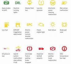 Volkswagen Temperature Warning Light What Are The Different Volkswagen Dashboard Warning Lights