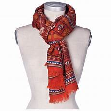 drakes wool silk scarf with elephants