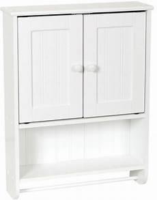 bathroom wall cabinet shelf storage towel bar organizer