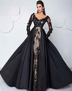 2017 fashion prom dress gown saudi arabia black