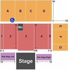 Santa Cruz Warriors Seating Chart Kaiser Permanente Arena Tickets And Kaiser Permanente