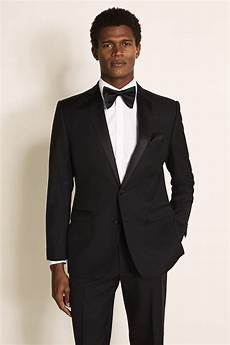 Tie Black French Connection Black Tie Event Hire Suit Moss Hire