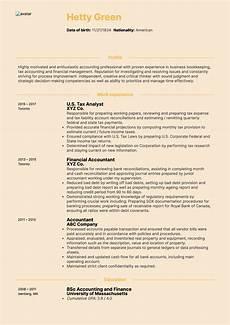 Accountant Resume Summary Cpa Tax Accountant Resume Sample Kickresume