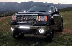 2012 Gmc Sierra Light Bar 100w Lower Bumper Led Light Bar For Gmc 1500 2500hd 3500hd