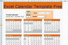Calendar In Microsoft Excel Excel Calendar Template Free Free Excel Spreadsheets And