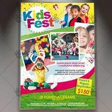 Kids Flyers Kids Fest Premium Flyer Psd Template Psdmarket