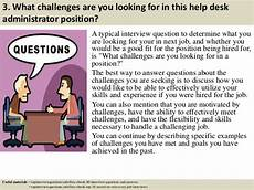 Interview Questions For Help Desk Top 10 Help Desk Administrator Interview Questions And Answers